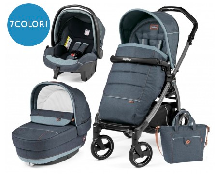 Trio Peg Perego: Book S Elite 51 Modular 2018