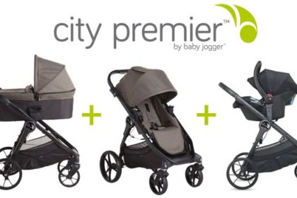 City Premier: l'originale trio di Baby Jogger