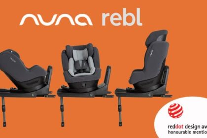 Rebl Nuna, il seggiolino auto fin dalla nascita