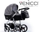 Passeggini Trio Venicci (Pure Denim Grey, Gusto Black & Soft)